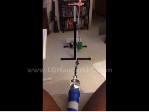 VIDEO REVIEW- Cable Weight Stand Set up & Use