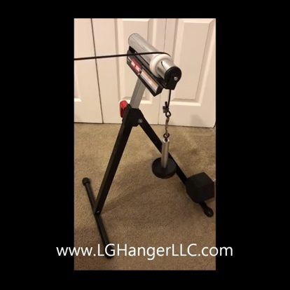 Cable Weight Stand Set Up